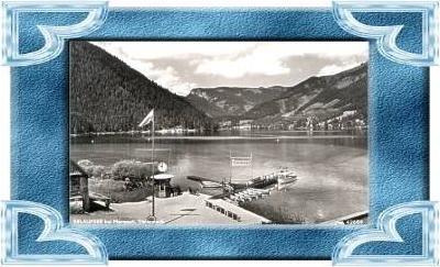 Mariazell v.1955 Motorbootanlegestelle (9883)