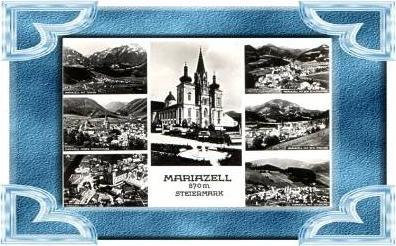Mariazell v.1956 7 Ansichten (9886)