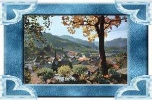 Gstaad v.1963 Teil-Stadt-Ansicht (9888)