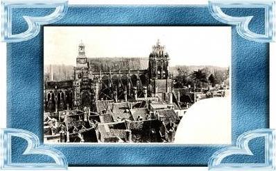 Gisors v.1905 Stadt & Kirche (10509)