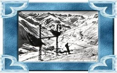 Andermatt v.1964 Skilift (10518)