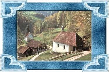 Flüeli v.1962.Einsiedelei Bruder Klaus .(10544)