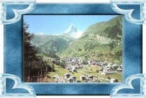 Zermatt v.1963 Stadtansicht (10550)