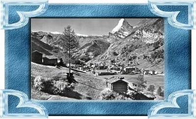 Zermatt v.1963 Stadtansicht (10551)