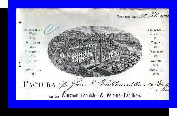 *FR* Wurzen v.1890 Wurzner T.- Fabrik (F015)