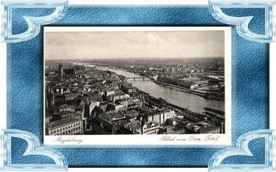 Magdeburg v. 1939  Teil-Stadt-Ansicht  (10699-04 )