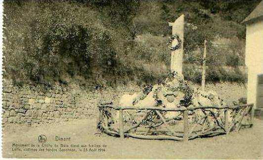 Dinant v. 1914 Monument de la Cliche (24944)