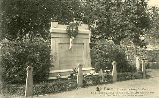 Dinant v. 1914 Place du Faubourg St. Paul (24945)