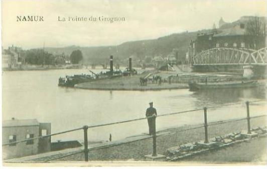 Namur v. 1918 La Pointe du Grognon (24946)
