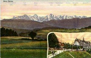 Bern-Gurten v. 1933 Berge & Hotel (24853)
