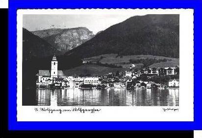 St. Wolfgang v.1938 Teil-Stadt-Ansicht (1095)