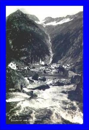 Göschenen v.1929 Dorfansicht (129)