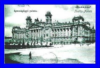 Budapest v.1903 Justiz-Palast (1225)