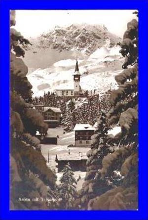 Arosa v.1928 Dorf mit (1353)