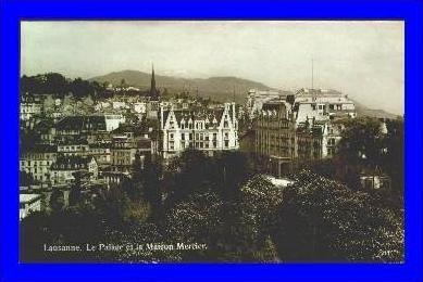 Lausanne v.1928 Maison Mercier (1405)