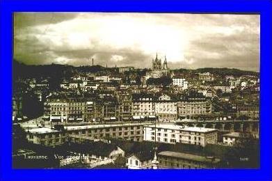 Lausanne v.1928 Vue generale (1406)
