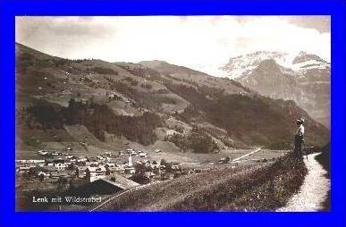 Lenk v.1928 Dorfansicht mit (1412)