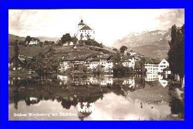 Werdenberg v.1928 Dorfansicht mit (1413)