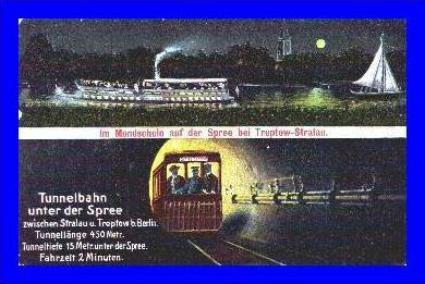 Treptow-Stralau v.1913 Tunnelbahn und (1690)