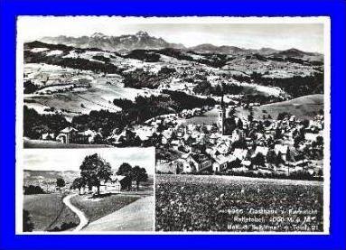 Rehetobel v. 1947  Dorf & Gasthaus zur Fernsicht  (1745)