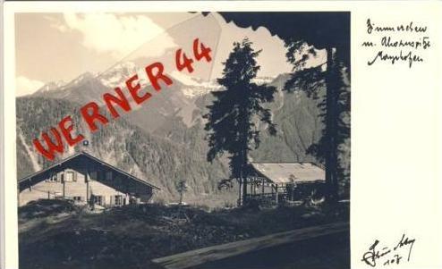 Mayrhofen v.1955 Almhaus (2987)