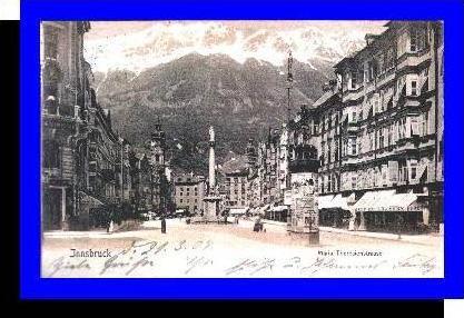 Innsbruck v.1904 Maria Theresienstrasse (3551)