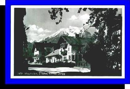 Mayrhofen v.1955 Kaffee Dengg (3558)