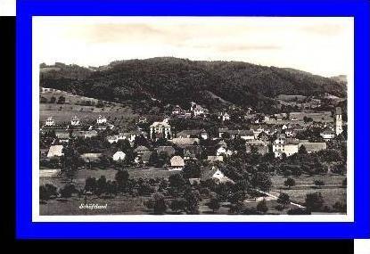 Schöftland v.1930 Dorfansicht (3715)