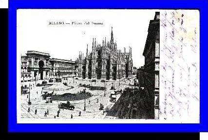 Milano v.1902 Piazza del Duomo (3775)
