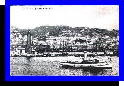 Genova v.1915 Panorama dal Marc (3776)