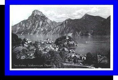 Traunkirchen v.1939 Teil-Stadt-Ansicht (3779)
