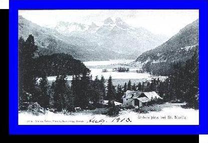Unteralpina b. St. Moritz v.1903 Dorf (3828)