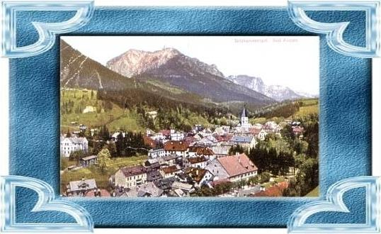 Bad Aussee v.1943 Stadtansicht (4899-030)