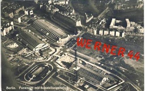 Berlin v.1937.Ausstellungshalle & Funkturm.(5350)