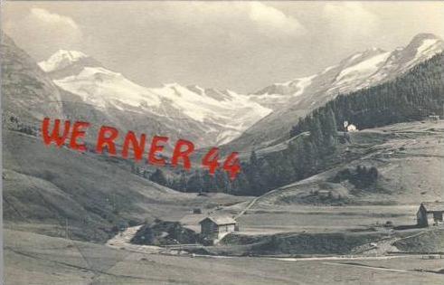Fextal v. 1908  Tal mit Hütten & Kirche  (27418)