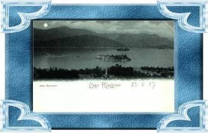 Lago Maggiore v.1897 Isola Borromce (8159)