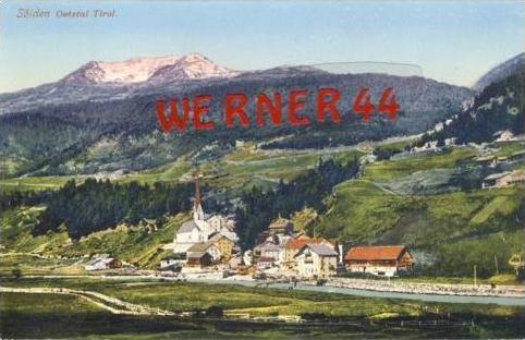 Sölden v. 1918  Dorfansicht  (7014)