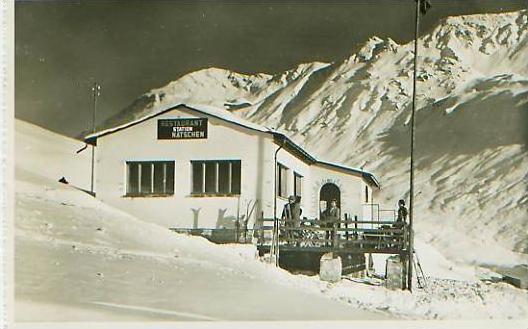 Andermatt v.1965 Station Nätschen .(17722)