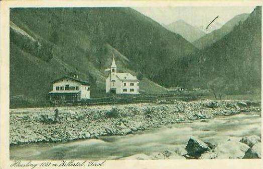 Häusling / Zittertal v.1926 siehe Foto !! (19534)
