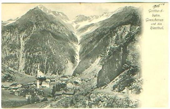 Goeschenen v.1915 Dorfansicht (22159)