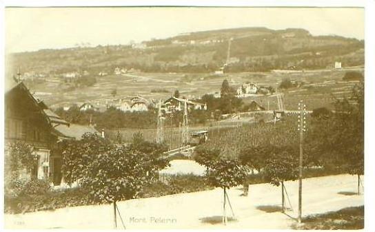 Mont Pelerin v.1925 Dorfansicht (22160)