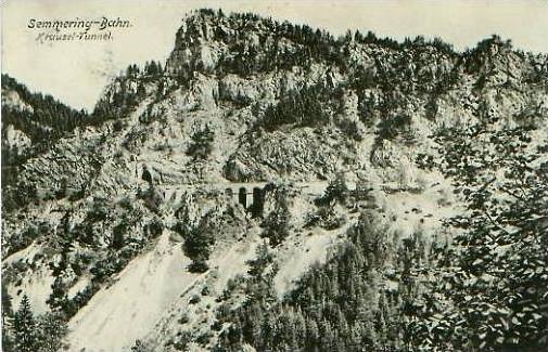 Semmering-Bahn von 1905 siehe Foto !! (22636)