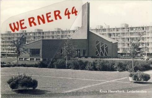 Leidschendam v. 1969  Kruis Heuvelkerk  (23830)