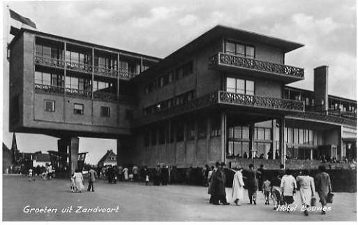 Zandvoort v. 1955  Hotel Bouwes  (24174)
