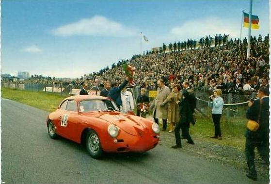 Zandvoort v. 1966  Rennstrecke siehe Foto !!  (24485)