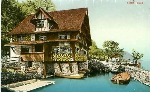Treib v. 1923 Gasthof -- siehe Foto !!  (24638)