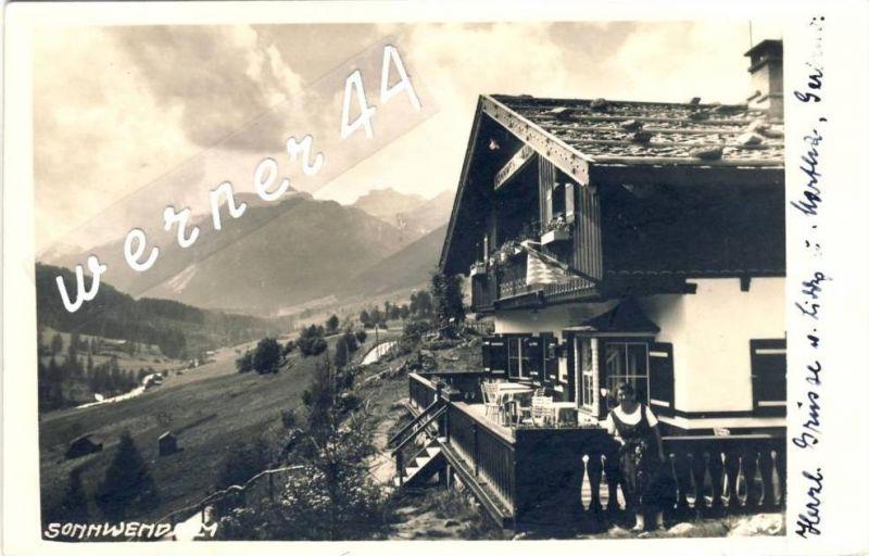 Steinach v. 1929  Sonnwend-Alm -- siehe Foto !!  (32830)