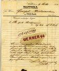 Nordhorn v. 1861  Wilh. Bode --  siehe Foto !!   (107)