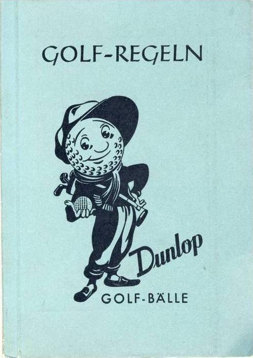 Golf Regeln von 1956  (28999-55)