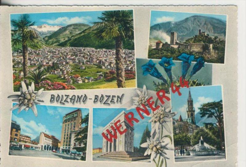 Bozen v. 1968  6 Ansichten  --  siehe Foto !!  (29095)